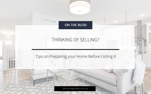 Deanna Allegranza Blog Thinking of Selling Your Home